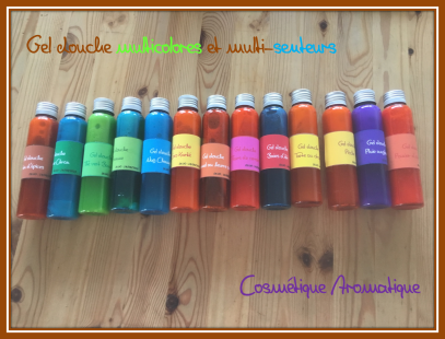 Gels douche multicolors5