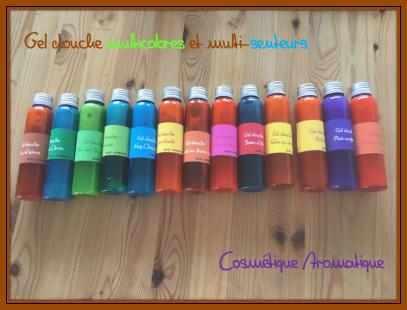 Gels douche multicolors5